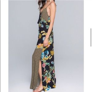 Band Of Gypsies Maxi Dress Size Med NWT